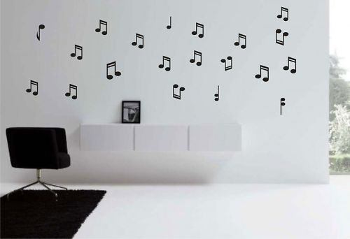 Music Notes Vinyl Wall Decal
